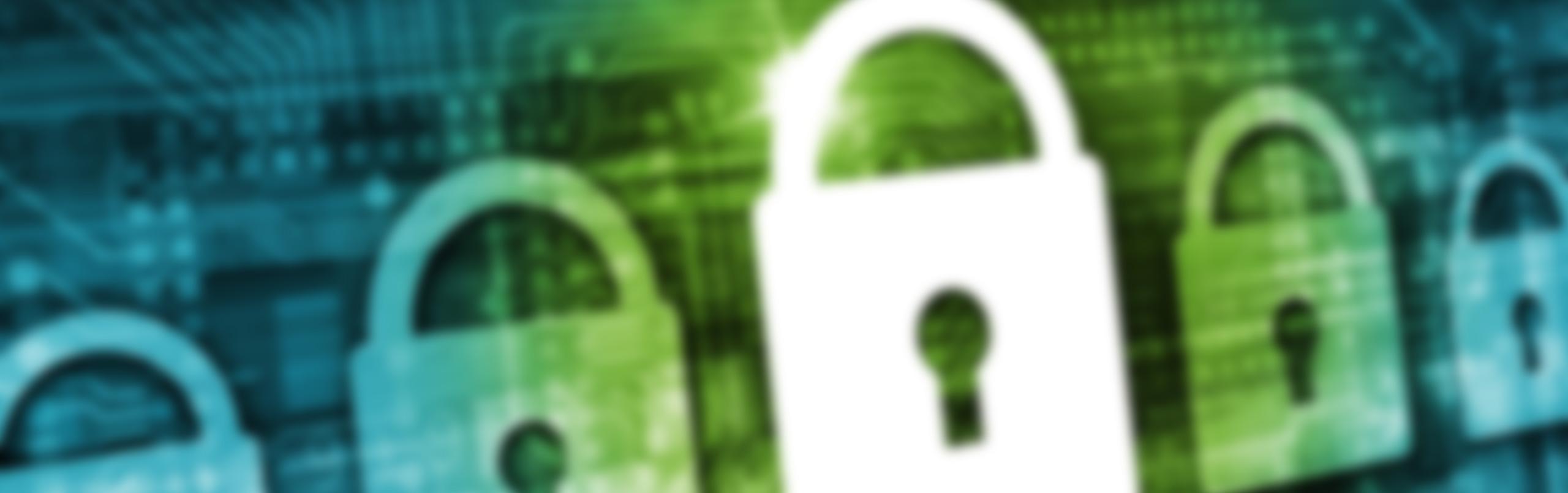 IT-Sicherheit-Industrie-4.0-Konferenz-Schloesser-verschwommen